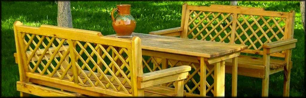 Lauko baldai | meistriukodirbtuvele.lt