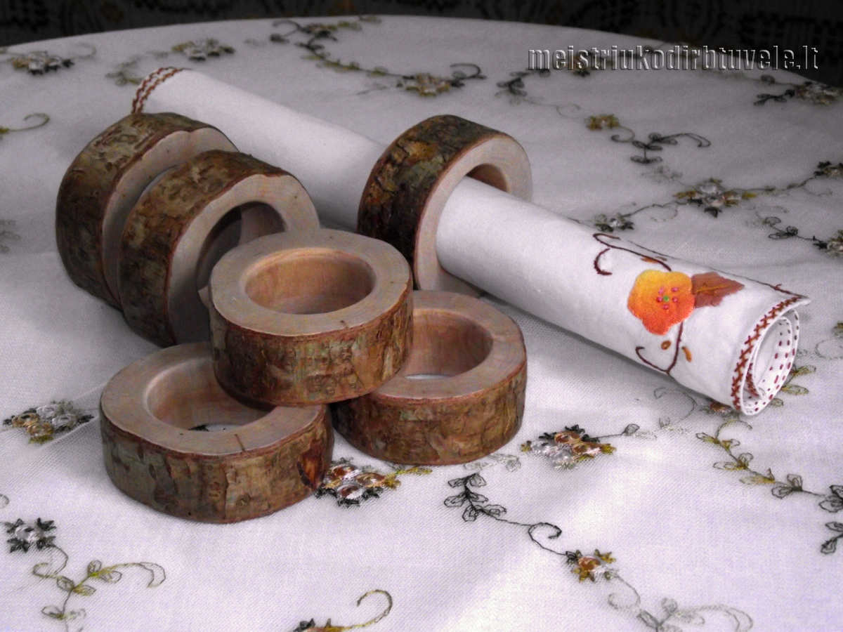 Ziedai servetelems | meistriuko dirbtuvele.lt