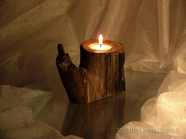 Žvakidė senas ąžuolas | meistriukodirbtuvele.lt